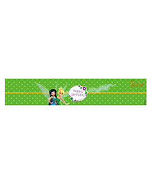 Disney Tinkerbell Wrist Bands Pack Of 10 - Green