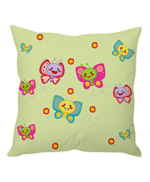 Stybuzz Butterfly Cushion Cover - Multi Color