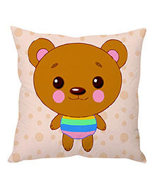 Stybuzz Cushion Cover Cushion Cover - Peach Brown