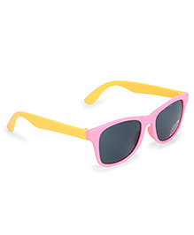 Babyhug UV 400 Kids Sunglasses  - Pink And Yellow