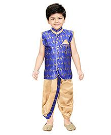 Shree Shubh Ethnic Dhoti Kurta Set - Blue
