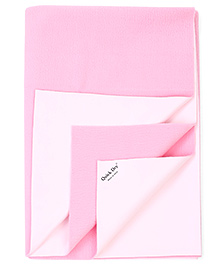Quick Dry Bed Protector Mat Medium - Pink