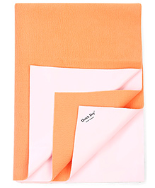 Quick Dry Bed Protector Large - Peach
