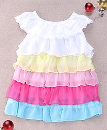 Superfie Multi Tiered Dress - Multicolour