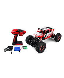 The Flyers Bay Rock Crawler 4WD Remote Controlled Rally Car - Red