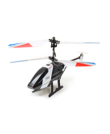 Flyer's Bay 3.5 Channel Digitally Proportionate Helicopter Justice Series Defender - Black