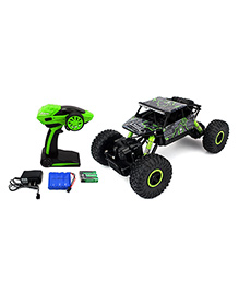 The Flyers Bay Rock Crawler 4WD Remote Controlled Rally Car - Green
