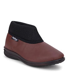 Footfun Formal Shoes - Brown