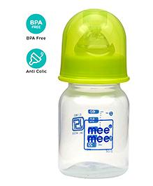 Mee Mee Feeding Bottle Green - 60 Ml