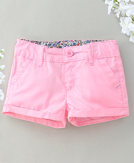 Hallo Heidi Stylish Shorts - Pink