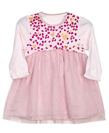 Bella Moda Heart Dress - Pink