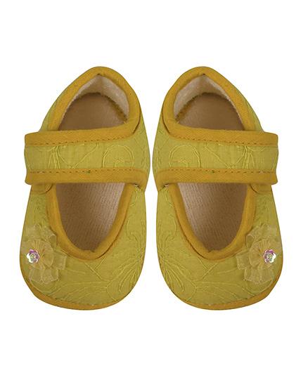 Beebop Stylish Babee Booties - Yellow