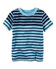 Carter's Striped Tee - Navy Blue