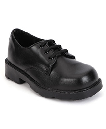 Prefect School Shoes Lace Up Style - Black