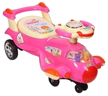 BSA Toddler Swing Car - Pink - 80 x 34 x 41 cm