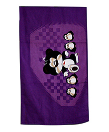 Sassoon Towel Animal Design - Multicolour