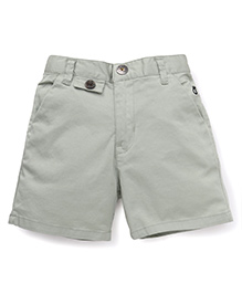 Gini & Jony Plain Shorts - Grey