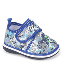 Bash Casual Shoes With Velcro Closure - Blue