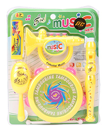 Playmate Music Set 4 Pieces - Yellow