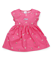 Child World Cotton Frock - Pink
