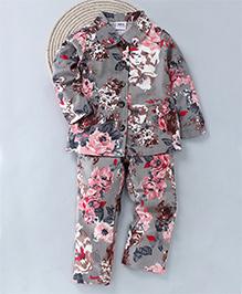 Kuddle Kids Girls Trouser & Blazer Set - Grey