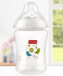 Babyhug Wide Neck Feeding Bottle - 250 Ml