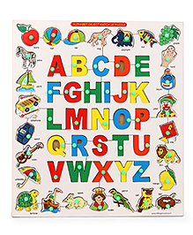 Little Genius Alphabet Object Match Up Puzzle - Multi Color