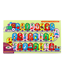 Little Genius Alphabet Train Puzzle - Multi Color
