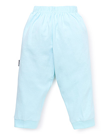 Child World Full Length Plain Thermal Leggings - Aqua