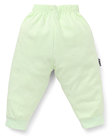 Child World Full Length Plain Thermal Leggings - Light Green
