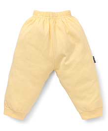 Child World Full Length Plain Thermal Leggings - Yellow