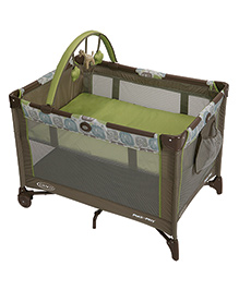 Graco Pack N Play On The Go Playard Sequoia Green - 1904246