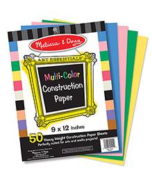 Melissa & Doug Multi-Color Construction Paper - Multi Color