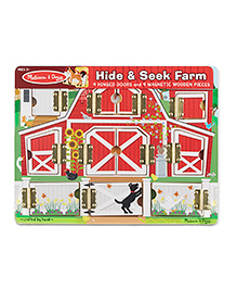 Melissa & Doug Magnetic Farm Hide & Seek Board