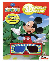 Disney 3D Sticker Scene
