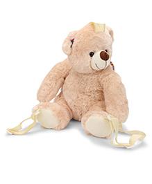 Starwalk Bear Backpack Beige - 36 cm