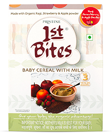 Pristine 1st Bites Ragi And Mixed Fruits - 300 Grams