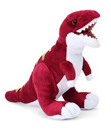 Wild Republic Dinomites Trex Soft Toy Dark Pink - 38 Cm