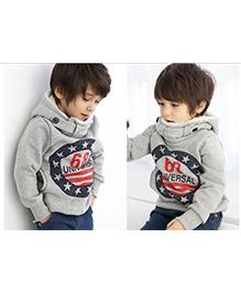 Tickles 4 U Hooded Sweatshirt - Grey