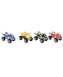 Wild Republic Tube Vehicle Pack Of Four - Multi Color