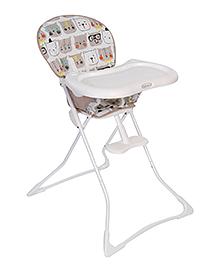 Graco Tea Time Bowtie Bear High Chair White - 3T94BWTE