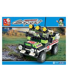 Sluban Off Road Expert Building Block Game M38-B0135 - 164 Pieces