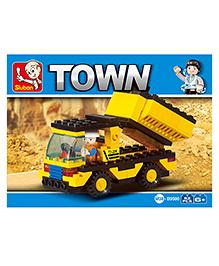 Sluban Town Block Game - Yellow
