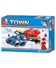 Sluban Town Block Game - Multi Color