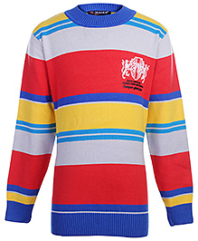 Multicolour  Stripes 79 Batch Full Sleeves Sweater