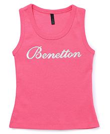 UCB Sleeveless Tee Benetton Print - Pink