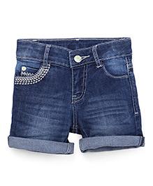 UCB Denim Shorts - Dark Blue