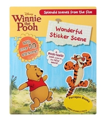 Winnie The Pooh Wonderful Sticker Scene