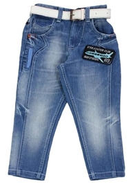 High Star - Denim Jeans With Belt