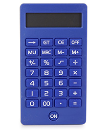 Calculator With Bold Keys - Royal Blue